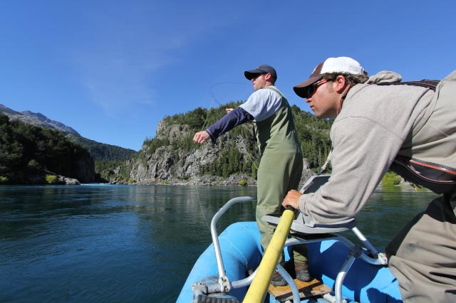 Sight casting in Patagonia