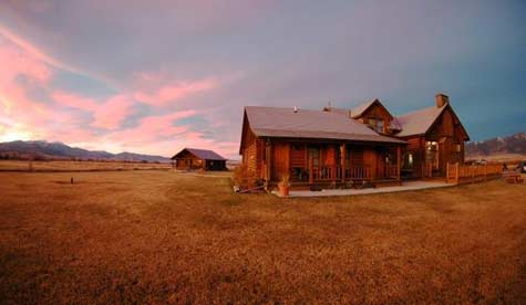 The Madison Valley Ranch is a Classic Montana Fly Fishing Lodge