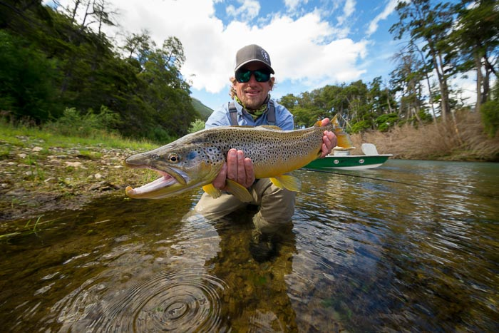 Argentina Fly Fishing Bill Buchbauer Brown Trout