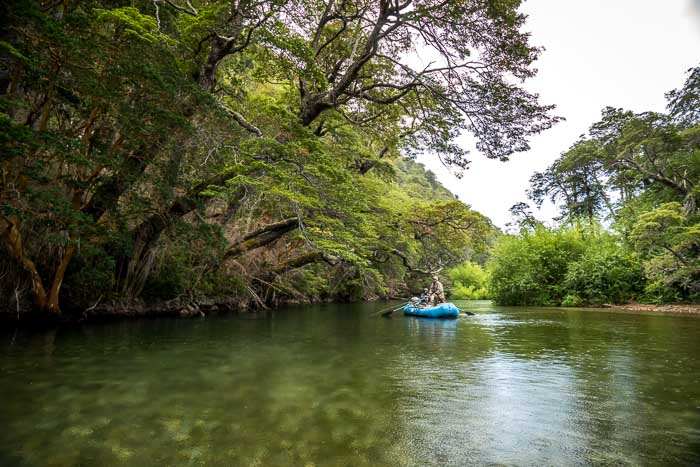 The Rio Rivadavia is one of Argentina's most beautiful rivers!