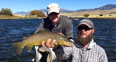 Josh Wheal Montana fishing guide