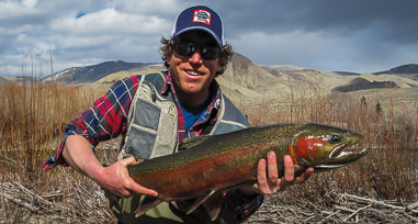 Montana fly fishing guides Luke Rice