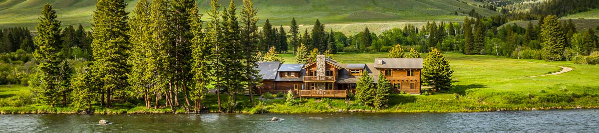 Montana fishing lodge