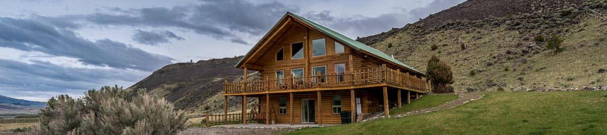 Montana fly fishing vacation cabin rental