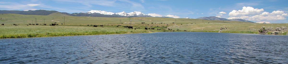 Fly fishing Montana's lakes