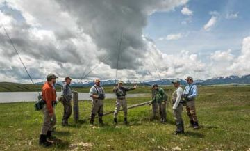 Montana fly fishing guide service