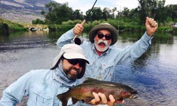 Best fly fishing guides Big Sky