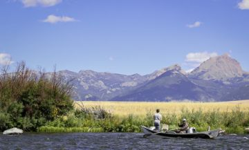 Madison River fishing lodges