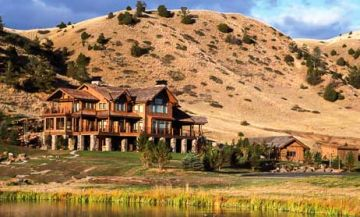 Montana fly fishing lodge package