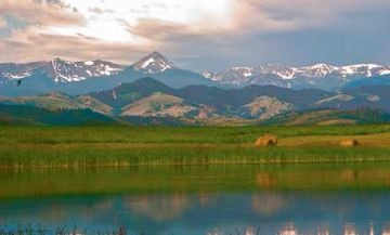 ponds and lakes for trophy trout Montana