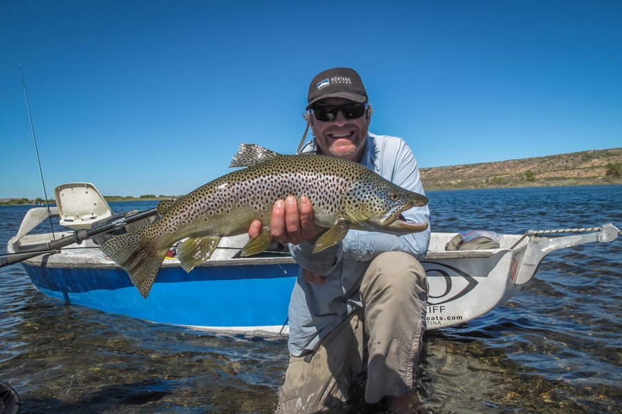 Argentina patagonia trip report san martin de los andes for Fly fishing argentina