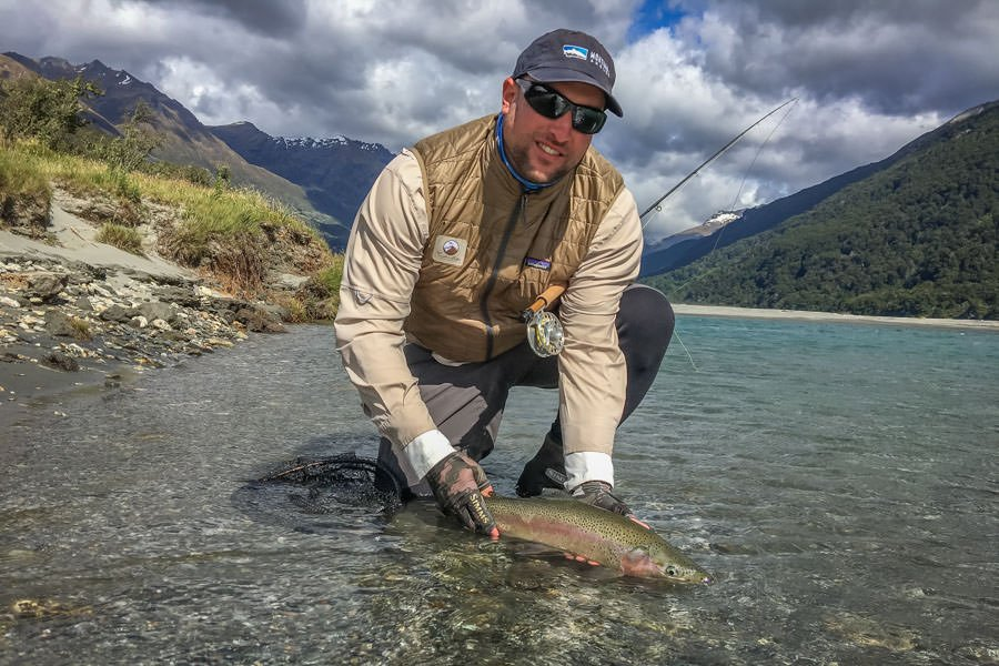 International fly fishing trips Montana Angler New Zealand Cedar Lodge