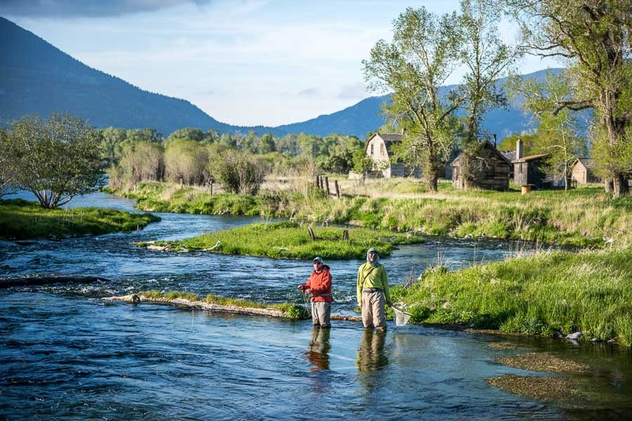 5 great rivers for spring fishing in montana during march for Private trout fishing in missouri