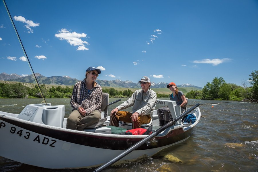 Floating the Madison River