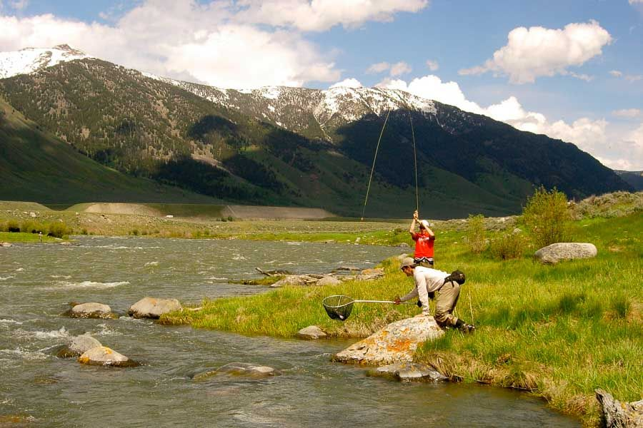 Montana fishing after runoff