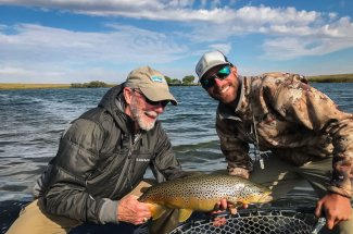 Stillwater fly fishing Montana lakes