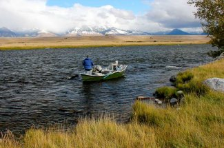 Spring Fishing on the Madison River