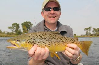 Fly Fishing Montana Bighorn River