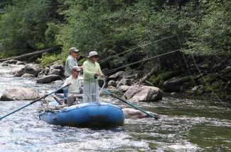 Off the beaten path fly fishing