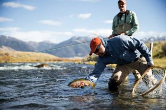 October Fly Fishing Montana Angler