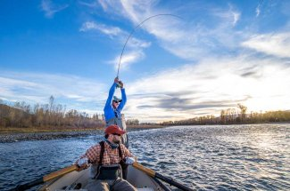 November Fly Fishing in Montana