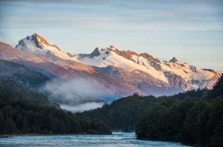 Chile fly fishing Patagonia Baker Lodge