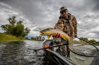 Montana provide numerous venues for the traveling fly angler