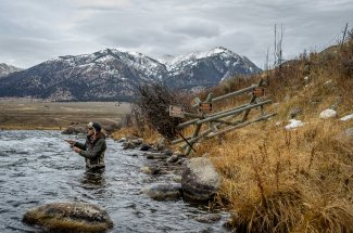 Wading the Upper Madison River