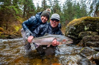 Spring Steelhead Fishing in Alaska