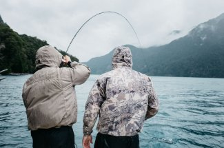 Bent rods are to be expected when fly fishing Argentina