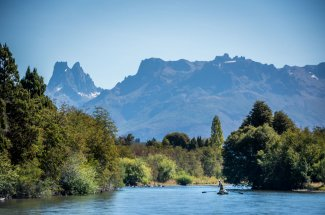 The Carrileufu River and Tres Picos