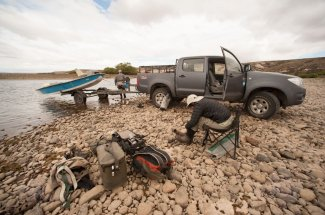 Limay River boat ramp