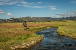 Small meadow streams hold big fish in Argentina