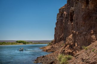 Floating the Mighty Limay River, Argentina