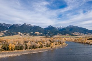 One of the most scenic fishing trips in Montana on the Yellowstone River