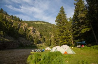 Smith River float and camping fishing trips