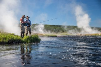 Fire Hole river fishing with the top Montana guides