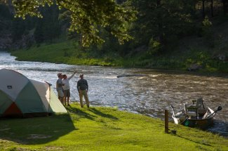 Smith River fishing and camping trips