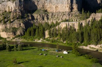 Camping and fishing trips on the Smith River