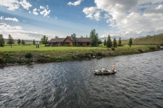 Fly Fishing along the Madison River Lodge