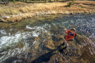 Fly Fishing on the Gibbon River