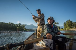 Fly Fishing trip on the Yellowstone River