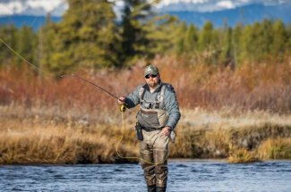 YNP - Fishing the Madison River