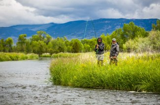 The Jefferson River fishing trips