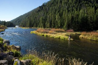 Fishing on the Upper Madison River