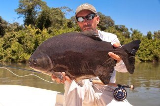 The Pacu fish species is an exotic fish you can catch in Argentina
