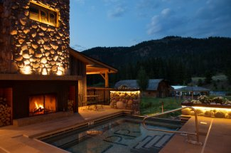 Enjoy a dip at Rainbow Ranch Lodge