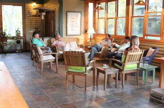 Healing Waters Lodge - telling stories