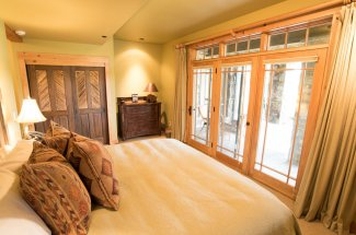 Bedroom at the Grey Cliffs Ranch