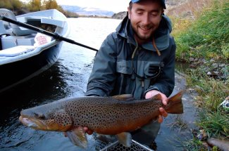 Big Montana Brown trout